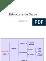 Sesion 2 Estructura de Datos
