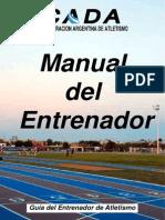 Manual de Atletismo CADA