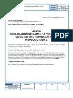 Reclamacion de Garantia Eco Vol-106