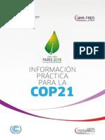 Información Práctica Para La Cop21
