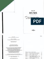 Hume 1748 Investigacion Sobre El Conocimiento Humano Ea