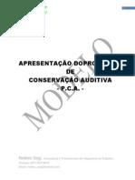 PCA Programa de Conservação Auditiva (Modelo)