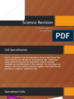 GCSE Biology Revision, Cells and the Body