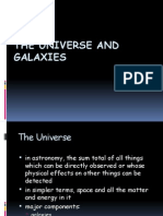 Class 8 cbse universe and galaxies