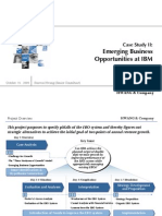 Strategy Report IBM