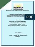 Documento Proyecto - Cambios de La Estructuración Familiar a Causa de La Inmigración a Partir de La Pos Guerra