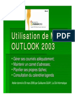 Didactitiel Outlook
