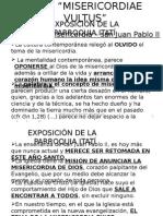 Exposición Itatí Misericordiae Vultus