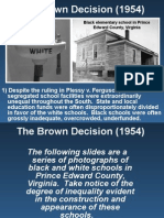r r  moton brown v  board and massive resistance ppt