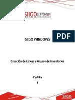 Cartilla - Creacion de Lineas y Grupos de Inventario