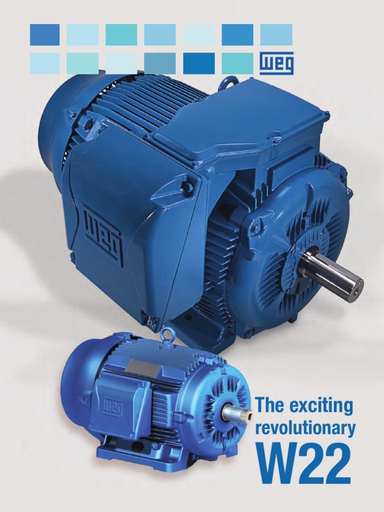 CatalogoWEG Completo de Motores Weg   Mechanical Fan   Bearing ...