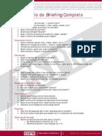Modelo Briefing da ESPM
