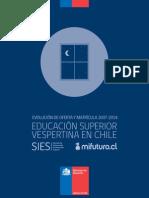 Educacion Vespertina en Chile_sies