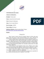 RESENHA_AVALIAÇÃO_SEGUNDA_VERSÃO - Atividade 1 - Disciplina