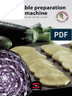 Brochure Vegetable Prep Machine CA