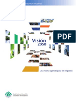 Sostenibilidad Vision 2050