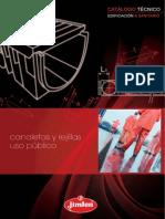 Canaletas y Rejillas Uso Publico Catalogo Tecnico 45669