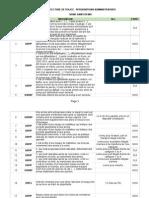 Tableau des perquisitions administratives en Seine-Saint-Denis au 19 novembre (Mediapart)