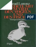 [Konrad Lorenz] Er Redete Mit Dem Vieh, Den Vögel