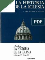 Comby, Jean - Para Leer La Historia de La Iglesia 02