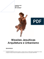 As Missões Jesuíticas Arquitetura e Urbanismo