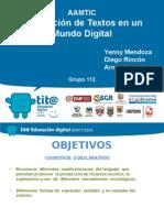 Presentación  ambiente de aprendizaje Arnul Yenny Diego