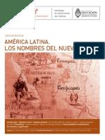 Unidad 1 - Patricia Funes - Los Nombres Del Nuevo Mundo