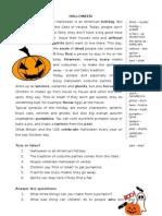Halloween Present-simple 2012