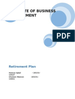 Retirement Plan Report