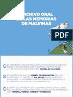 Archivo Oral de Las Malvinas