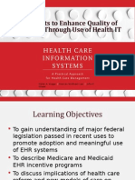 Lecture 6 Health Care Information System