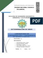Informe de Dbo5