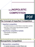 EC1301 - Monopolistic Competition - 1