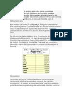 Se Ha Elaborado Un Análisis Sobre Los Datos Mundiales Disponibles Del Mercado Del Huevo en Cascarón y Del de Ovoproductos