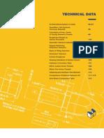 Misumi Technical Data