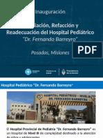 Inauguracion Hospital Pediátrico Posadas II