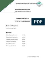 Unidad III Actividad 2 Tipo de Compresores