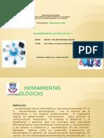 Presentación - Herramientas Tecnológicas .