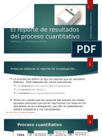 Cap 11 - El Reporte de Resultados Del Proceso Cuantitativo