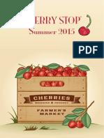2015 Cherry Stop Catalog