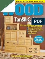 WOOD Magazine June July 2015 Gabinete