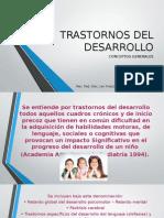 Trastornos Del Desarrollo Definiciones Generales