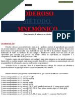 99051836 Poderoso Metodo Mnemonico Www Iaulas Com Br
