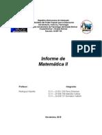 Informe de Matemática II sobre Producto Notable, Formula de 2do grado y Factorización.