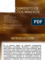 FINANCIAMIENTO DE PROYECTOS MINEROS.pptx