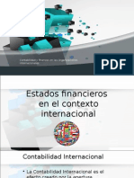 Contabilidad y Finanzas en Las Organizaciones Internacionales
