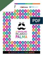 36 Feria Ricardo Palma - Catálogo