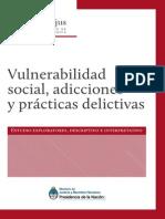 Vulnerabilidad Social Adicciones Prácticas Delictivas