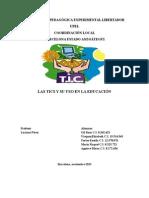 Las TICS en La Educacion Final (1)