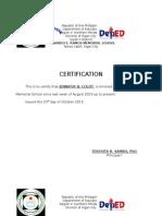 4 P's Certification
